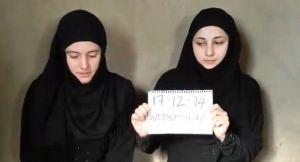 dua wanita italia yang disandera isis